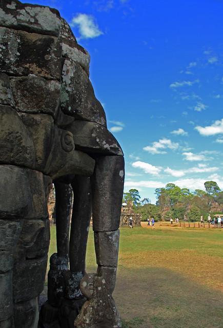 Baphuon Elefantes