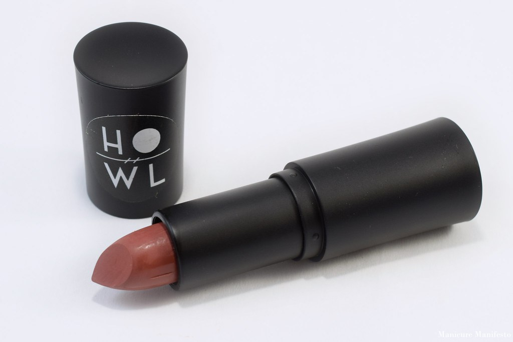 Howl Cosmetics Gingerbread lipstick