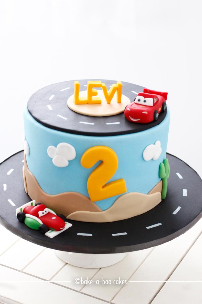 Disney Cars Cake Images : Boys favourite Disney Cars Cake! Elina Prawito Flickr