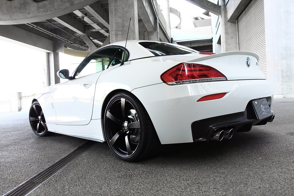 BMW E89 Z4 20i | Forged wheel matte Black | 3DDesign Japan ...