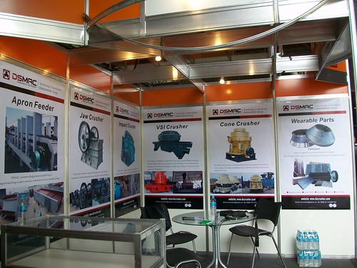 DSMAC booth at Brazil exhibition | by DSMAC1