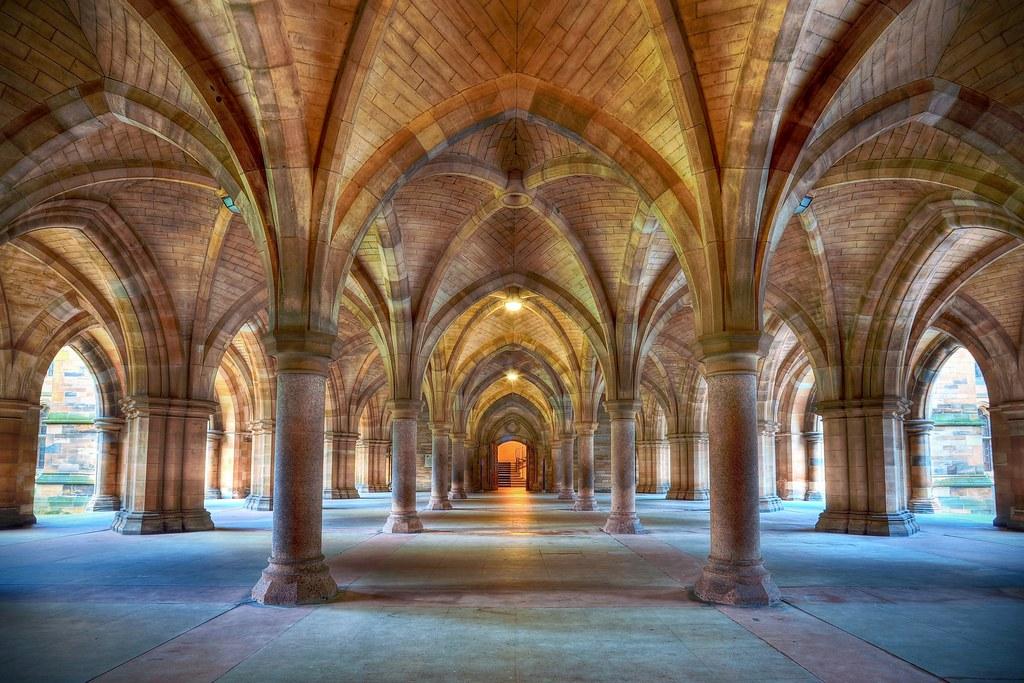 Glasgow University Cloisters The Spectacular