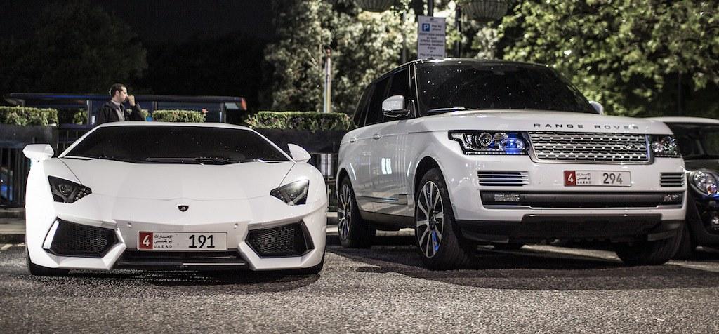 Range Rover Sport >> Lamborghini Aventador & Range Rover Sport | Shaker Media ...