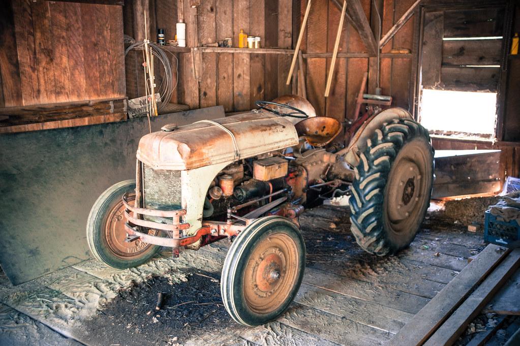 Tractor Broke Down : Broke down tractor taken for active assignment weekly