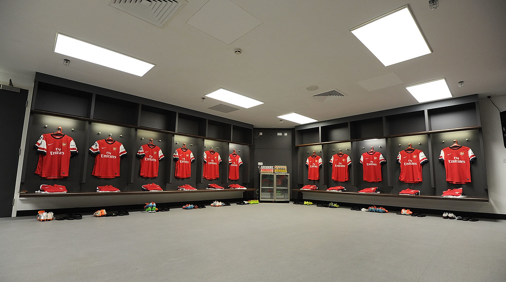 Wembley Changing Rooms