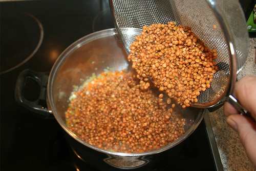 33 - Linsen addieren / Add lentils
