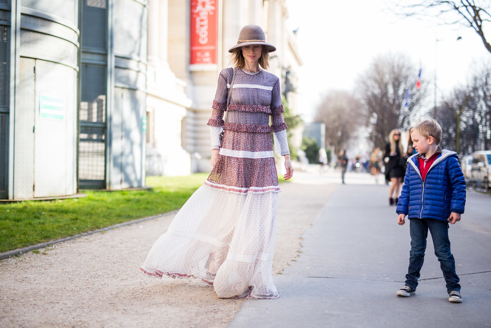 Street Style - Anya Ziourova, Paris Fashion Week