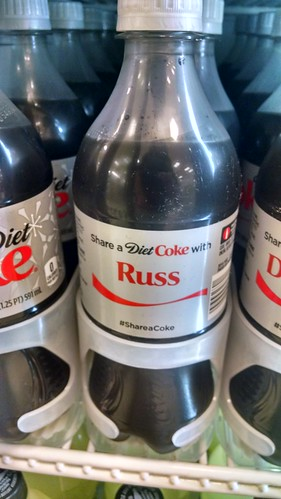 A Named Coke Bottle
