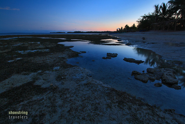 the blue hour at Tambobong Beach
