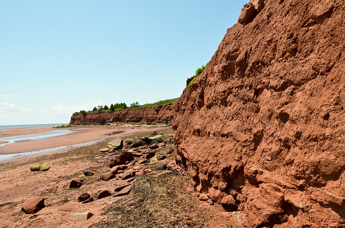 Argyle Beach's Red Shore