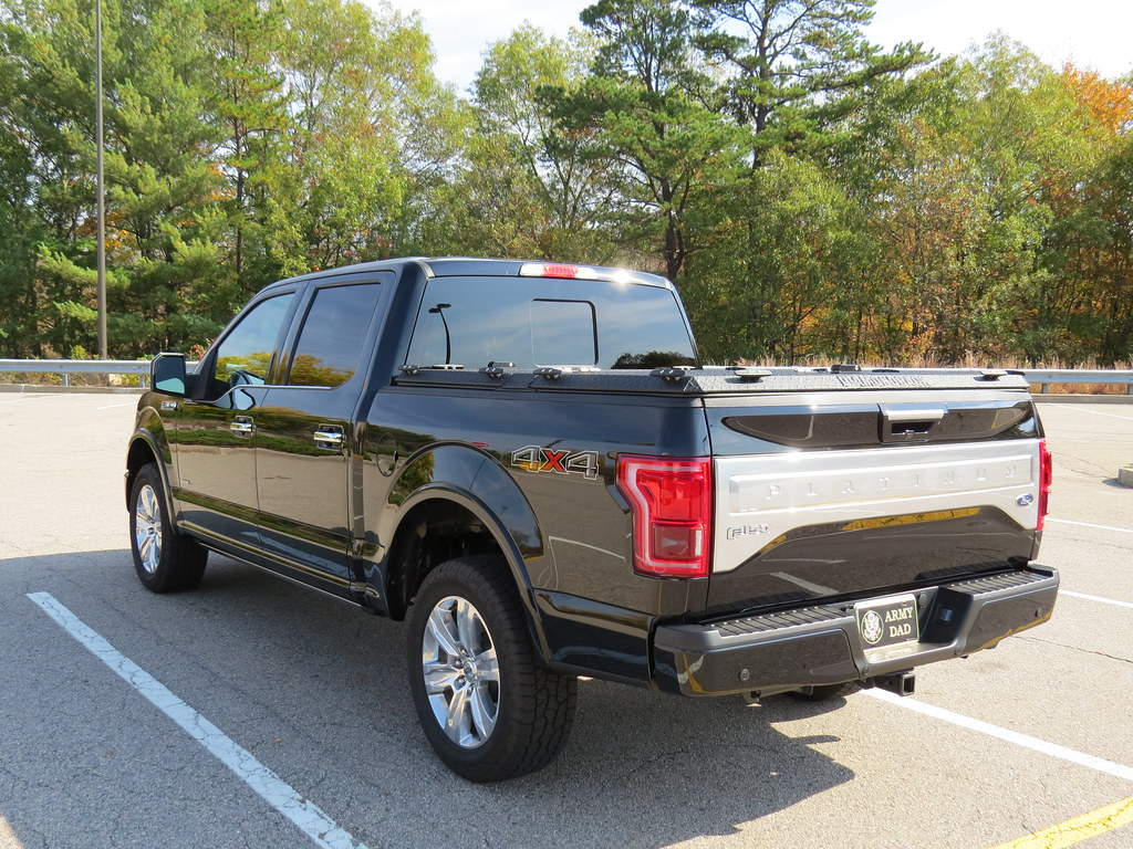 A Heavy Duty Truck Bed Cover On A Ford F150 A Rugged