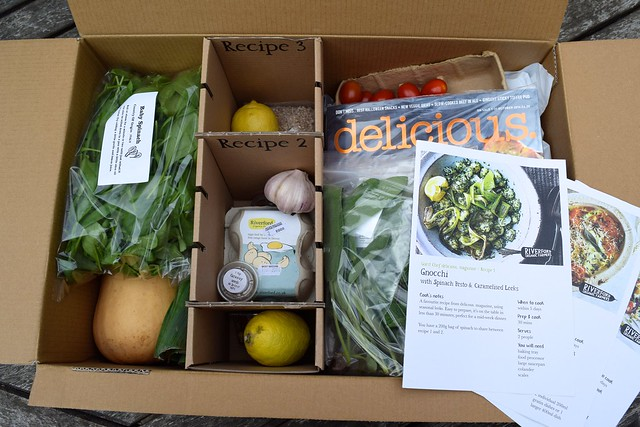 Riverford Organic and .delicious Magazine Guest Chef Meal Box | www.rachelphipps.com @rachelphipps