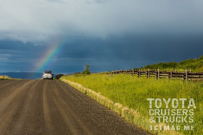 Rainbow on the Last Dollar Road between Telluride and Ouray