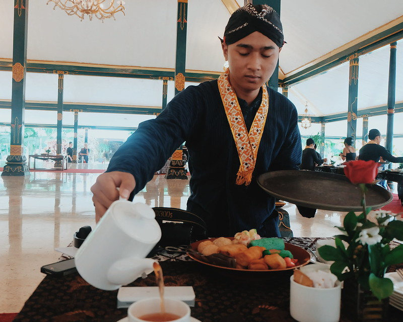 Royal HighTea Ceremony at Royal Ambarrukmo