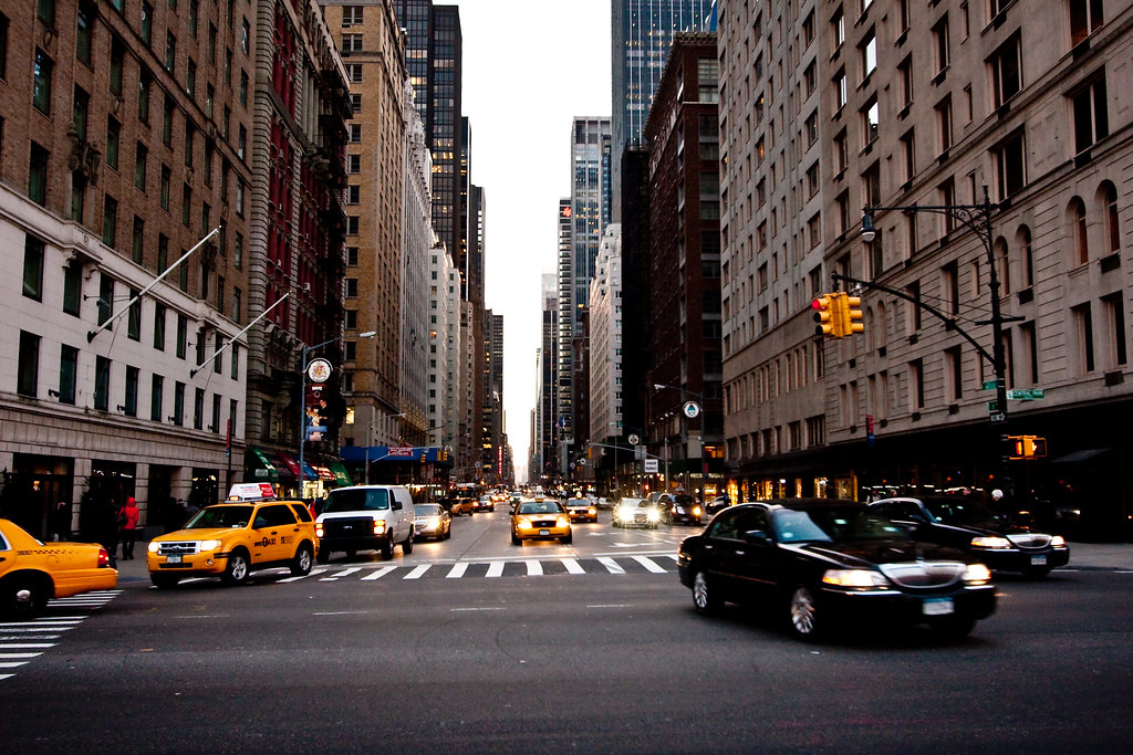Sixth Avenue Evening