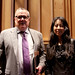 David Ward and Satomi Shirai