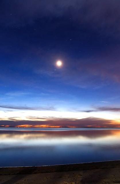 Spica, Venus, Moon and Saturn | Flickr - Photo Sharing!