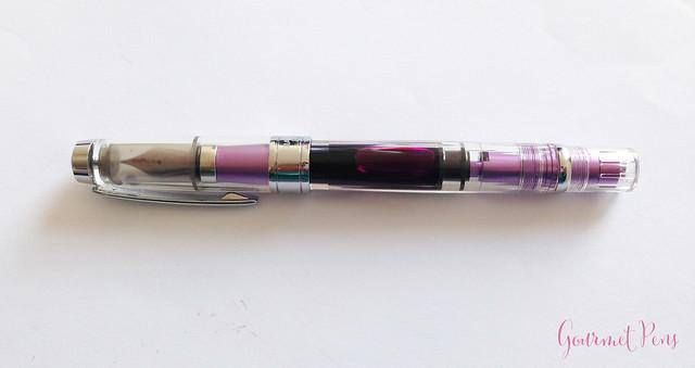 Review TWSBI Diamond 580 AL Purple Fountain Pen @TWSBI @CouronneDuComte (11)