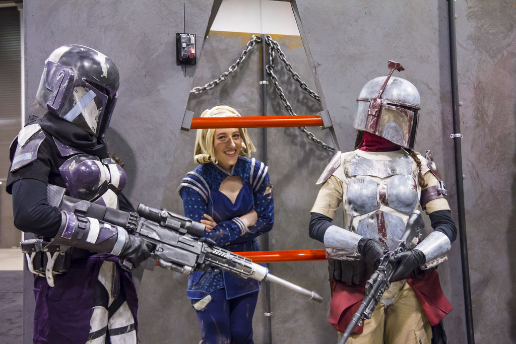 Mandalorian Merc Satine Kryze Bounty At Mando Booth Flickr