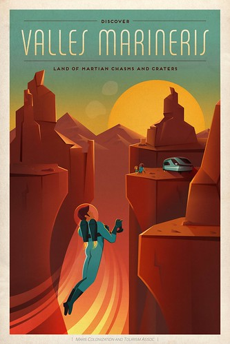 Travel Poster: Valles Mariners