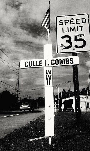 Culle I. Combs WWII