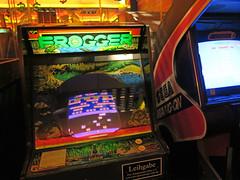 Spielautomat Frogger (Berlin)