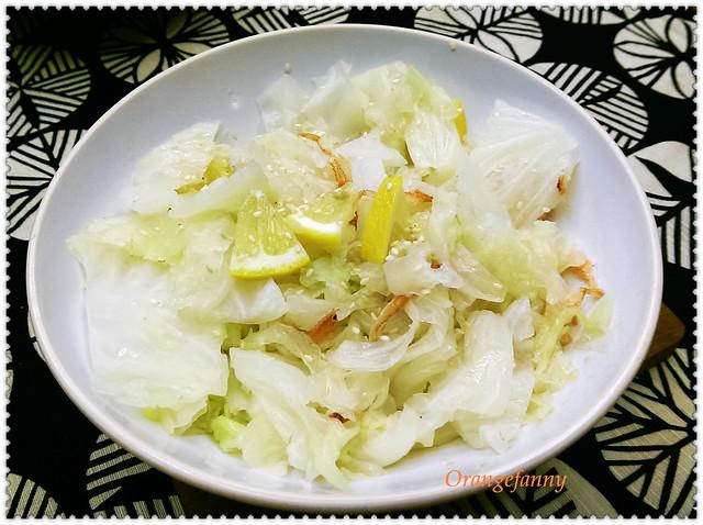 150513 鹽水高麗菜拌檸檬櫻花蝦-01