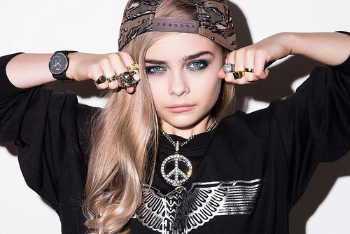 Mini Cara Delevingne Harley Chapman (photo: Withings)