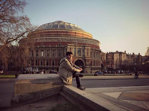 Royal Albert Hall no longer has royal sense.