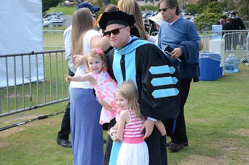 Jarrett's graduation