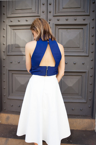 Finders Keepers the label crop top back view