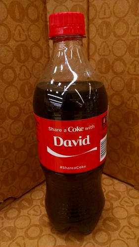 Coke Bottle With a Name on It
