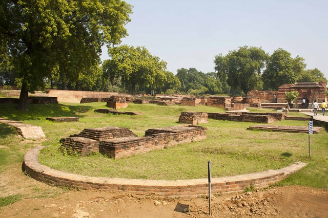 Ruins of Monasteries in Sarnath, Uttar Pradesh
