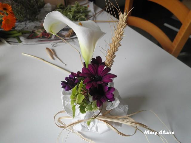 fiori in sacchetto x prima comunione