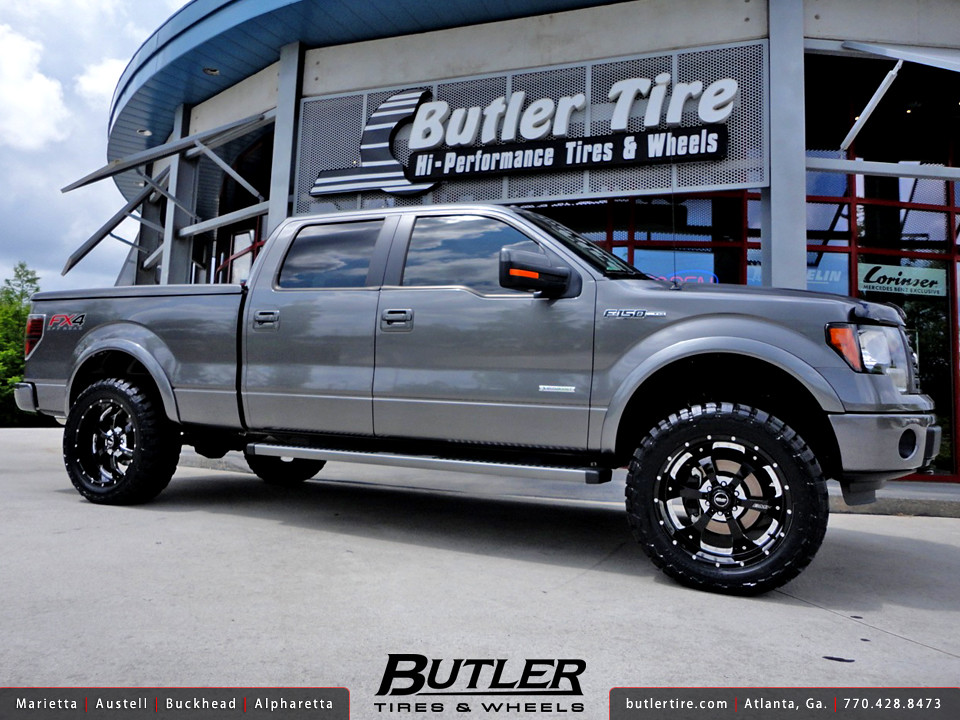 2012 F 150 Rims >> Ford F-150 FX4 with 22in BMF Novakane Wheels and 4in Rough… | Flickr