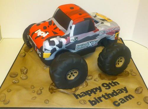 Monster Truck Cake Pan D