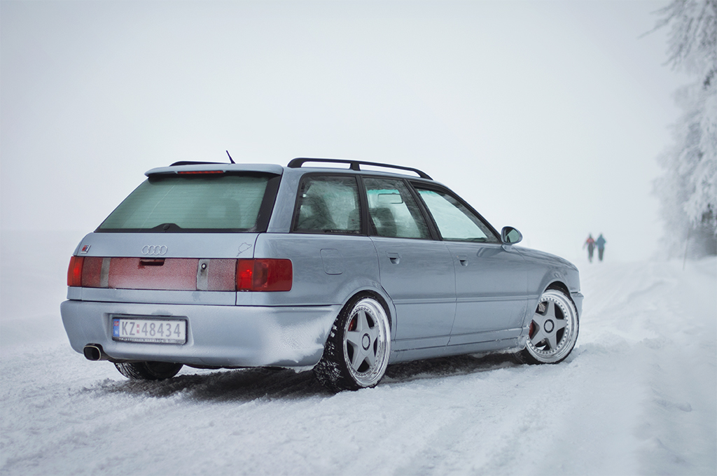 Audi Rs2 Avant A Beautiful Audi Rs2 In Snow Conditions