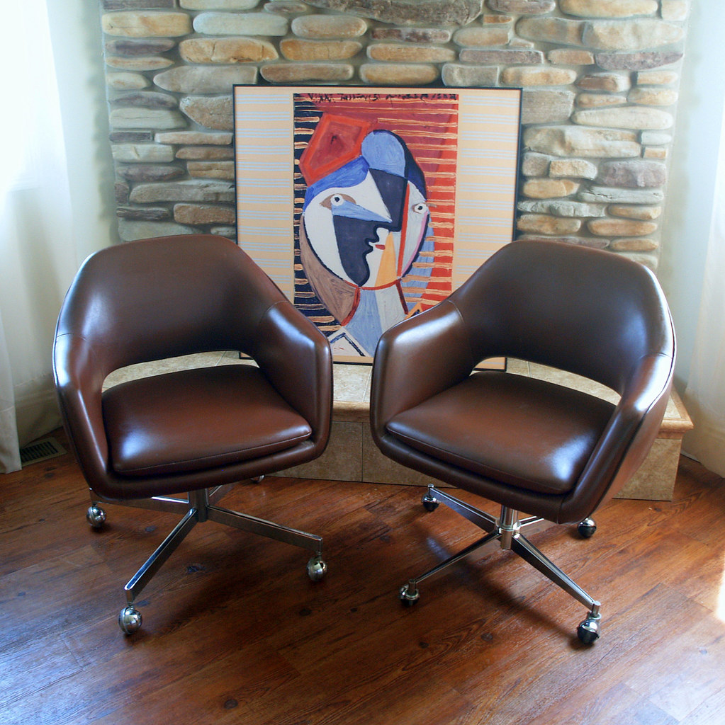 1979 Saarinen For Knoll Executive Arm Chair Iconic Mid Cen