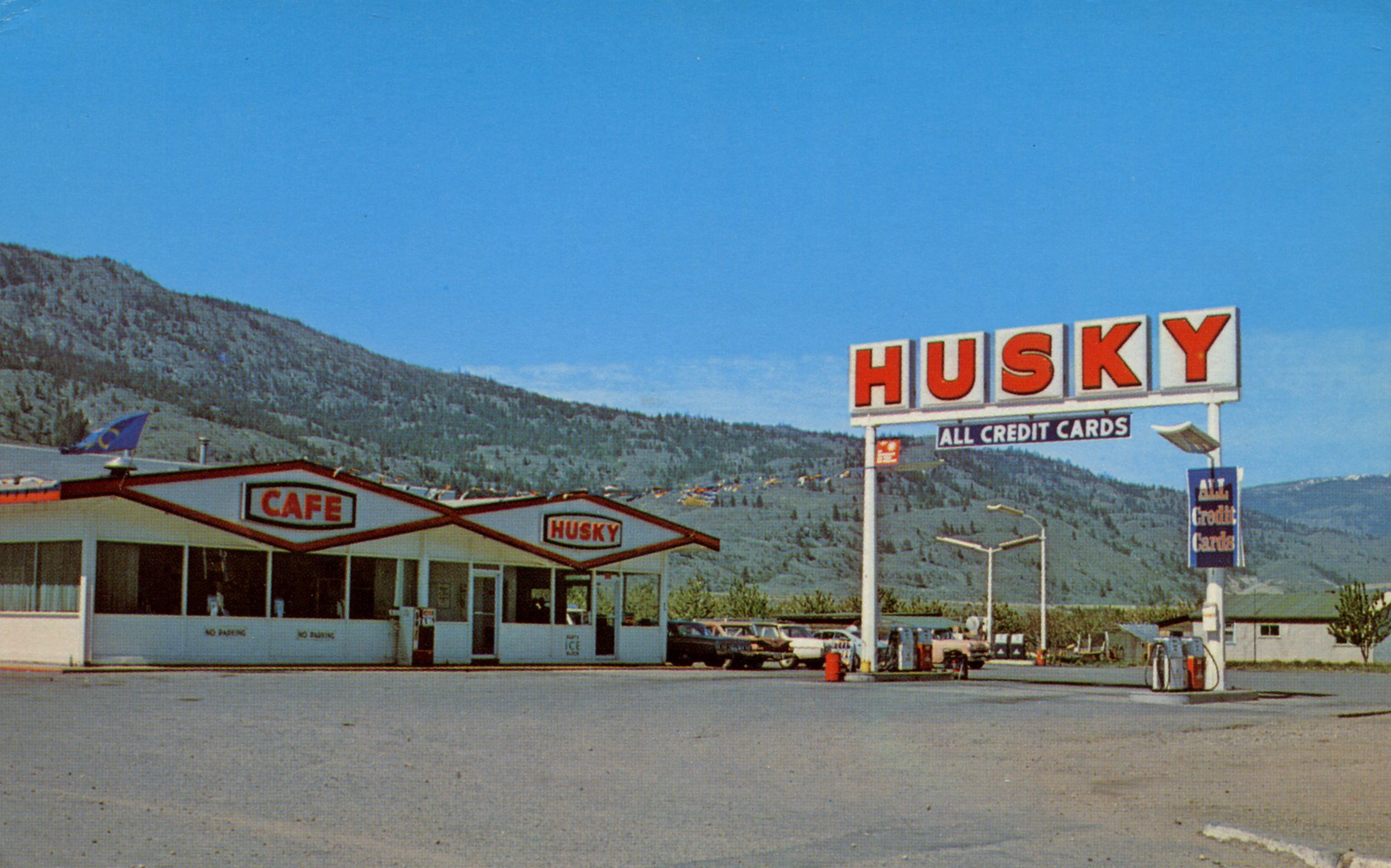 Chuck's Husky Travelcentre - 9206 97th Street, Osoyoos, British Columbia, Canada - 1960s