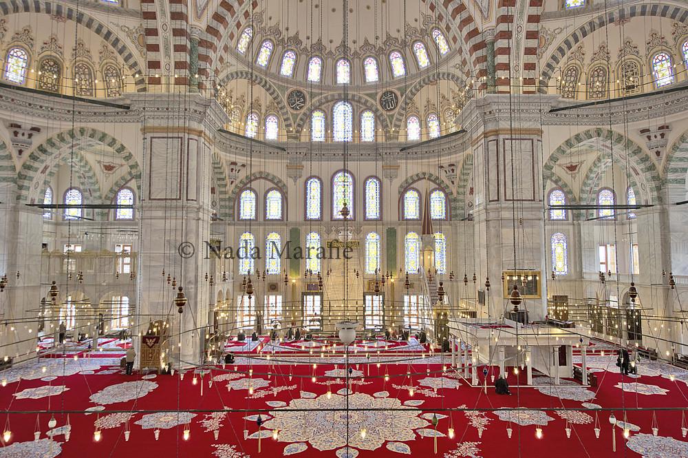 Fatih Mosque Location Turkey Camera Nikon D3s Lens