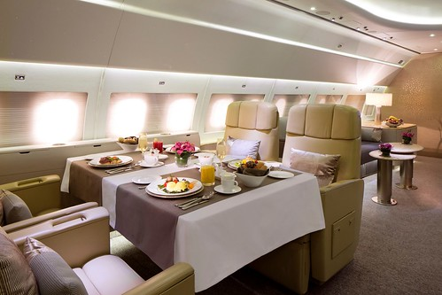 Emirates' Airbus 319 Luxury Private Jet Service 'Emirates Executive'
