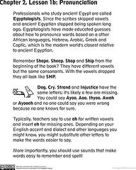 Egyptian for Kids: Pronunciation-1000