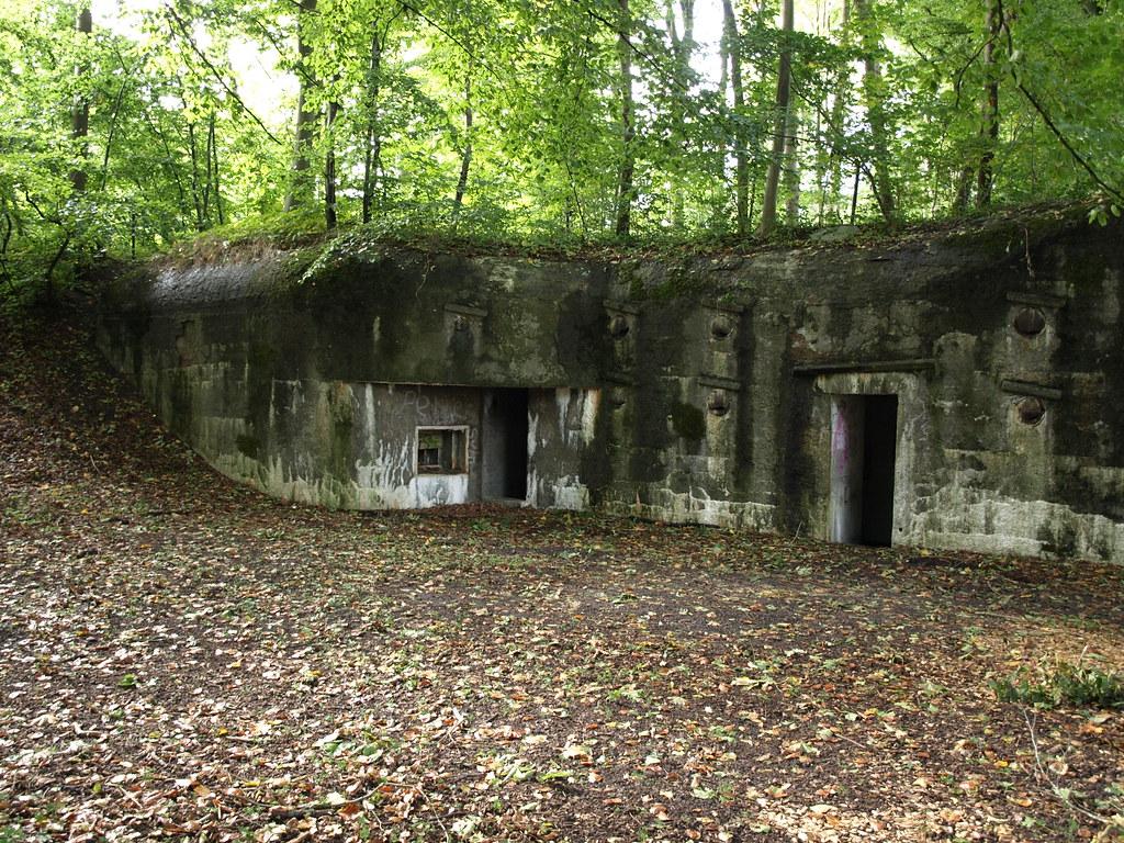 Bunker Former German Luftwaffe Wwii Bunkers In