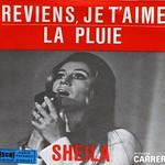 """SHEILA REVIENS JE T'AIME LA PLUIE 7"""" PS Single"""