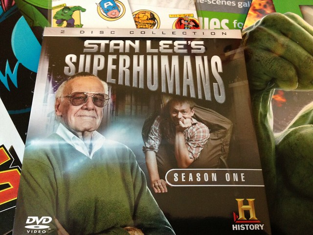 Marvel Comics Zavvi ZBOX, May 2015 Stan Lee's Superhumans DVD