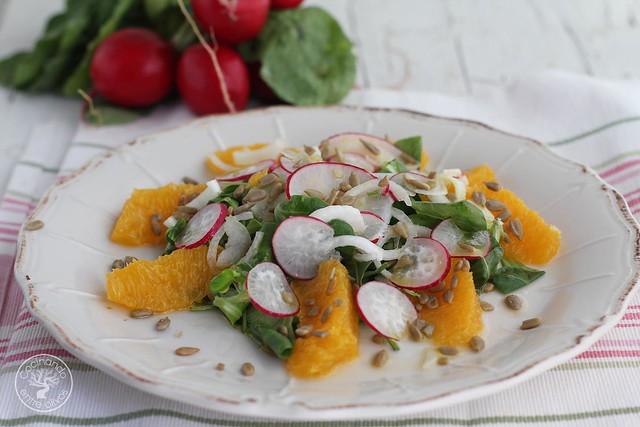 Ensalada de rabanos y naranja www.cocinandoentreolivos.com (9)