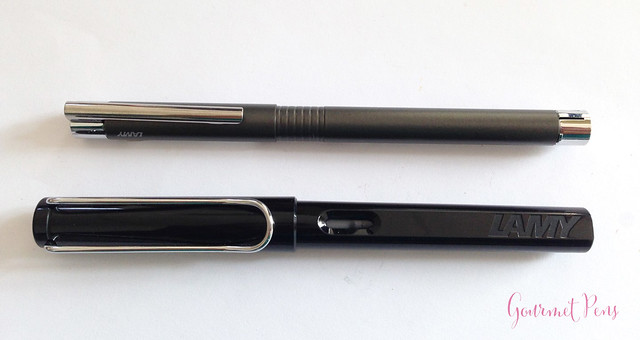 Review Lamy Logo Cliff Grey Fountain Pen @Fontoplum0 @Lamy (3)