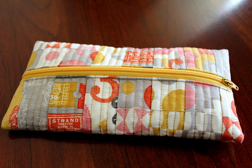 Scrappy Zippered Pouch