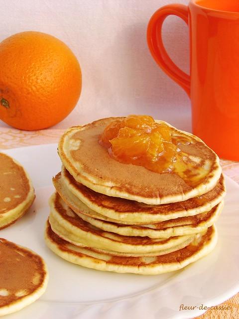 апельсиновые панкейки с рикоттой 2