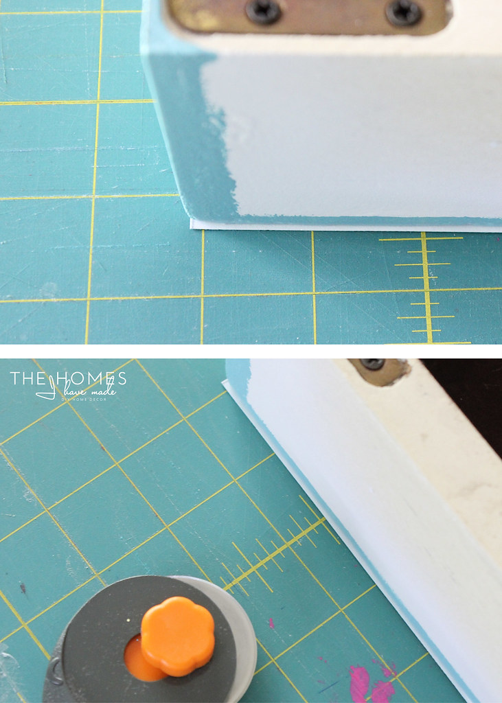 DIY | Grasscloth Covered Trunk